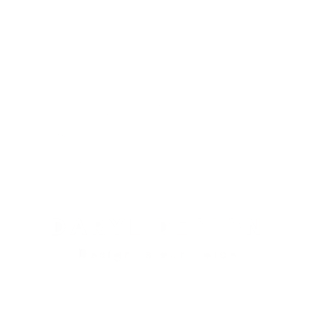 Daryl Design in white